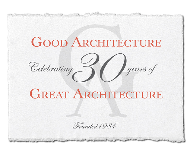 Good Architecture - Celebrating 30 Years of Great Architecture
